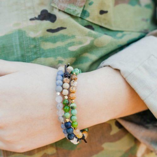 Military Bracelet - Home of the Brave