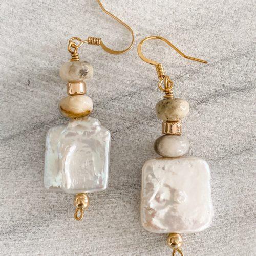 Alys Pearl Drop Earrings