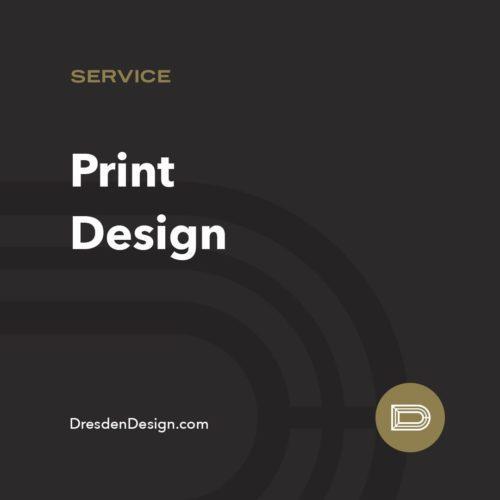 Dresden Print Design service